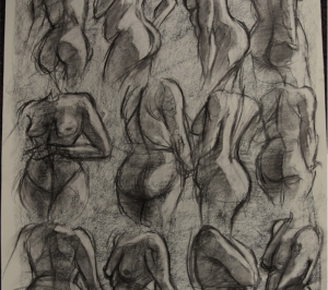 Stripped down: Exploring nude figure drawing