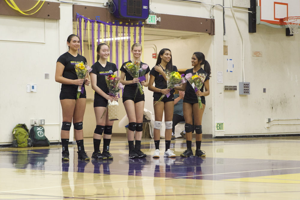 Girls volleyball: Team takes five-set victory against HHS
