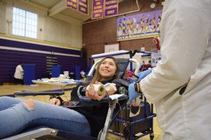 Lending an arm: Blood drives at MVHS