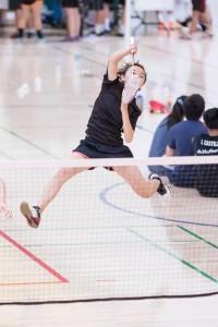 Behind the scenes of Badminton club
