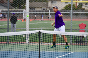 Boys tennis: Matadors dominate Gunn HS in first home game