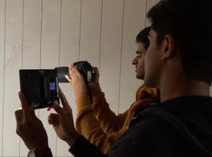 Behind the scenes of ND films' short movie