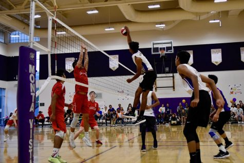Boys volleyball: MVHS defeats Saratoga HS on senior night