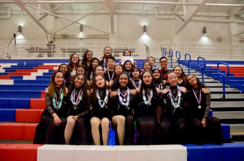 Color Guard wins 2nd place at California Color Guard Circuit Championships