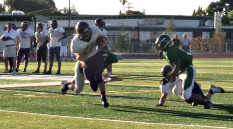 Football: Highlights of the scrimmage at Homestead