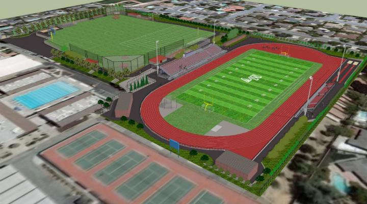 Track and field renovations to begin in late September