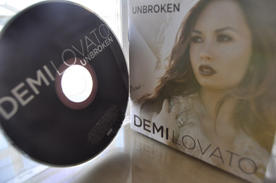 """Demi Lovato graces the cover of her third album """"Unbroken"""" featuring a wide range of songs from casual party tunes to serious and personal reflections. Photo by Rachel Lu."""