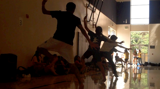 Breaking out in bhangra