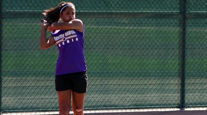 Girls Tennis: Win against Gunn extends undefeated streak