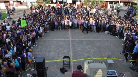 AUDIO SLIDESHOW: Students hold counter-protest to WBC in CHS quad on Oct. 19