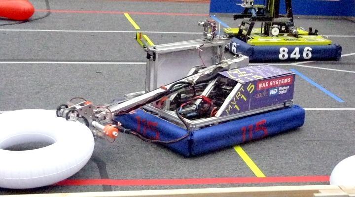Robotics Team defeated in quarter finals of CalGames