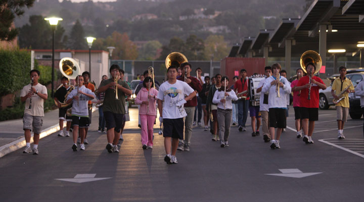 Fall Marching Band season to end with two competitions