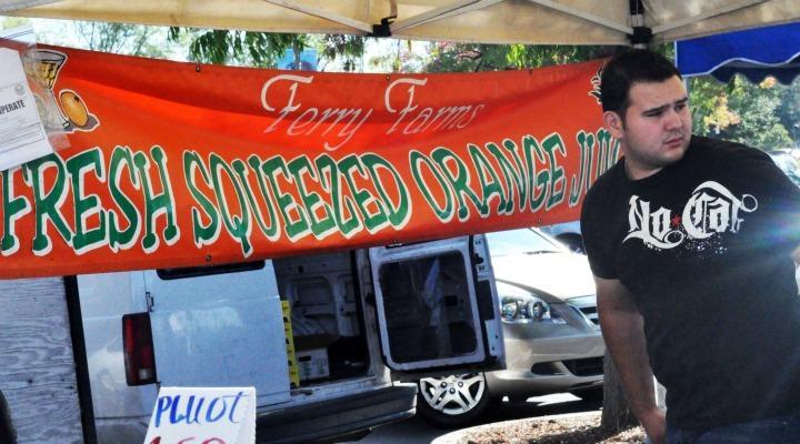 Oaks Farmers Market welcomes high schools students