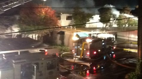 Fire destroys apartments on Homestead Road