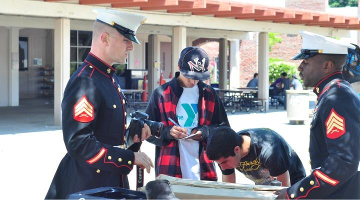 Marine's recruiting efforts not exploitative