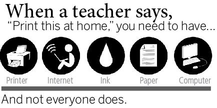 When a teacher says,