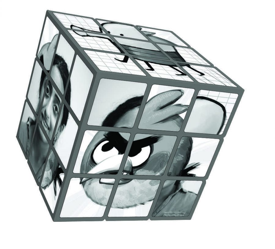 Although it may seem simple and streamlined, the reality is that the iPod Touch is no less complicated than a jumbled up Rubix Cube. Good luck figuring this one out. Photo Illustration by Angela Liu.
