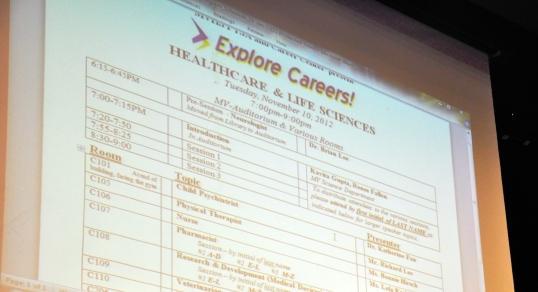 Alumni return to give Explore Careers! presentations