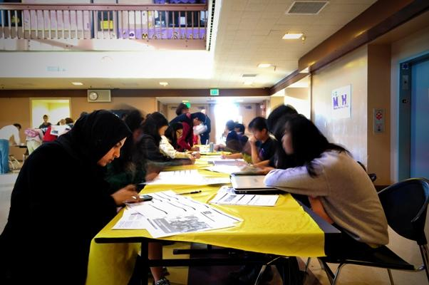 Community gathers to register for bone marrow drive