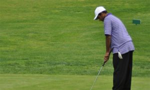 Golf: Top three seeds shoot two over par for first win of season