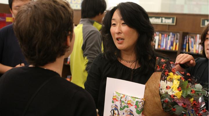 "English teacher honored in ""My Favorite Teacher"" contest"