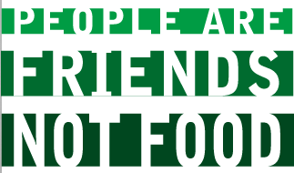 Class of 2012: People are friends, not food