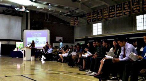 VIDEO: Senior Awards held on May 31