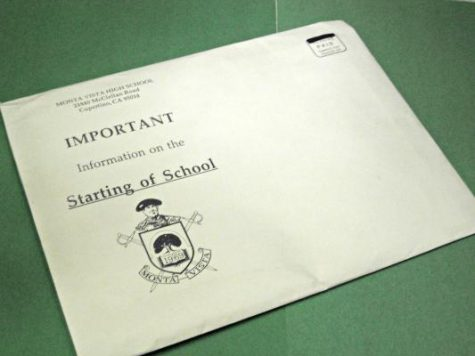 The administration's decision to provide start of school information on Schoolloop has reduced the size of the annual packet families receive.