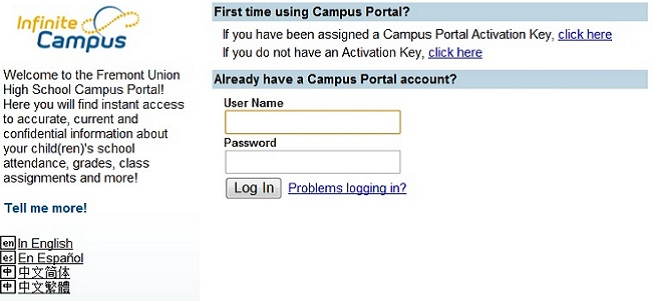 my campus portal activation key isnt working
