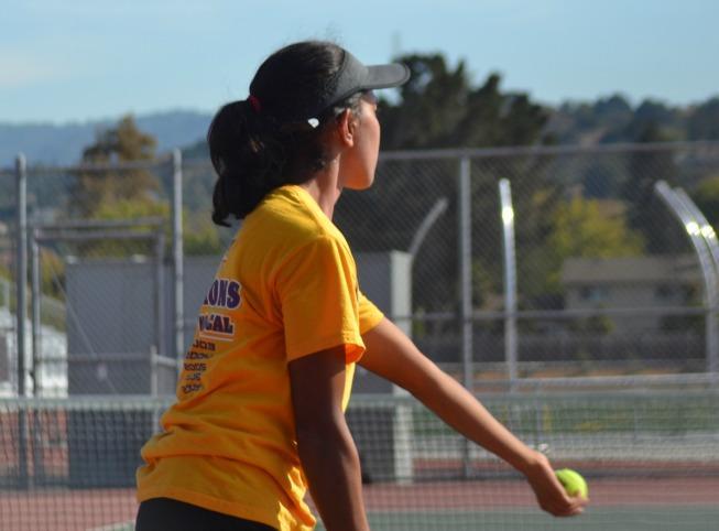 GIRLS TENNIS: MVHS defeats Milpitas High School 5-2