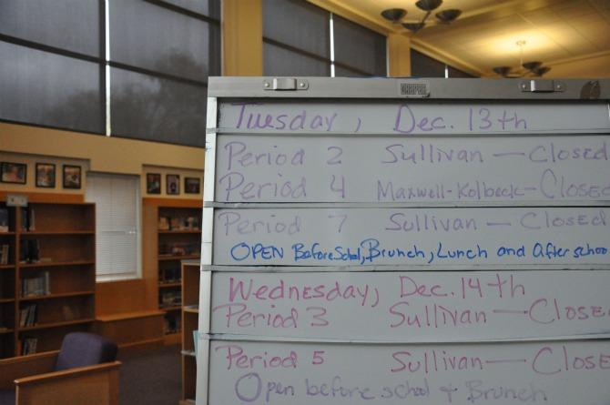 Library policies needlessly complicate students' study time