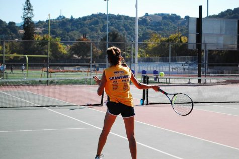 GIRLS TENNIS: MVHS struggles to pull out win over Palo Alto