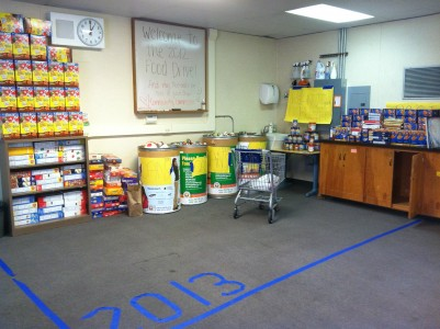 Changes made to Homecoming Food Drive