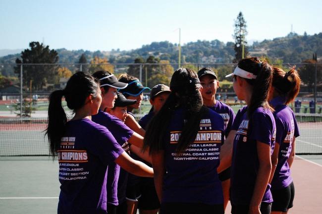 GIRLS TENNIS: MVHS defeats Los Altos 7-0
