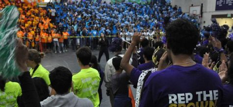 VIDEO: Homecoming rally held Oct. 12