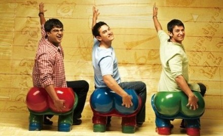 """PTSA will show the critically acclaimed """"3 Idiots"""" during the movie night. Photo from Flickr user 沐小川."""