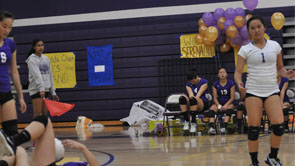 GIRLS VOLLEYBALL: Senior night thriller finishes with controversial call