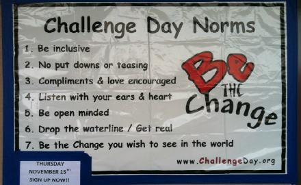 Challenge Day held Nov. 15