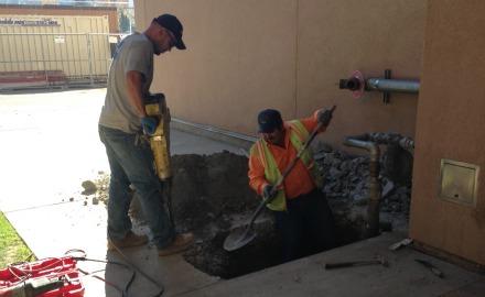 Gas leak in D building forces evacuation