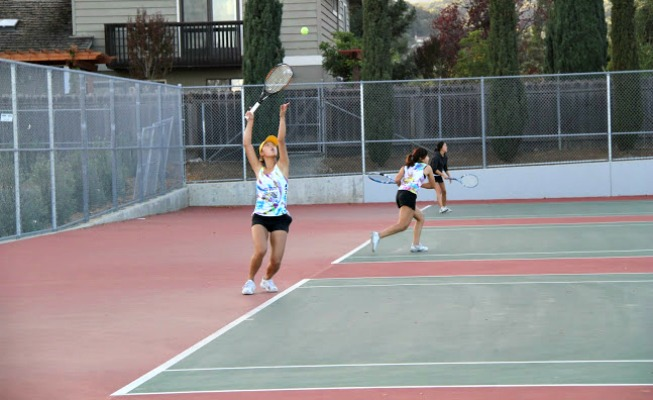 PHOTO GALLERY: Girls tennis vs. Mountain View