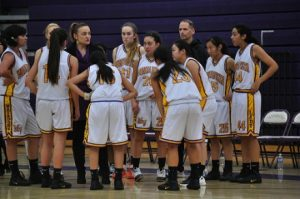 Girls basketball: Lost momentum in first half leads to 41-49 loss