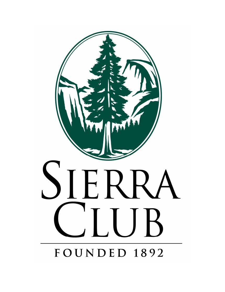 As part of their effort to pass a reusable bag ordinance, Sierra Club has been working to gain support from the community. A significant portion of its activities includes a petition in support of the reusable bag ordinance. Logo taken from sierraclub.org.