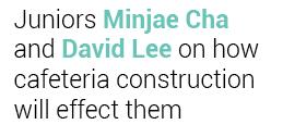 Minjae and David
