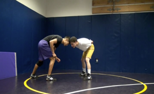 Video: Wrestling techniques in 40 seconds