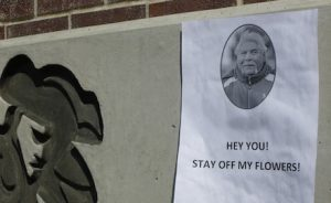 Students and faculty commemorate Ruben Delgado