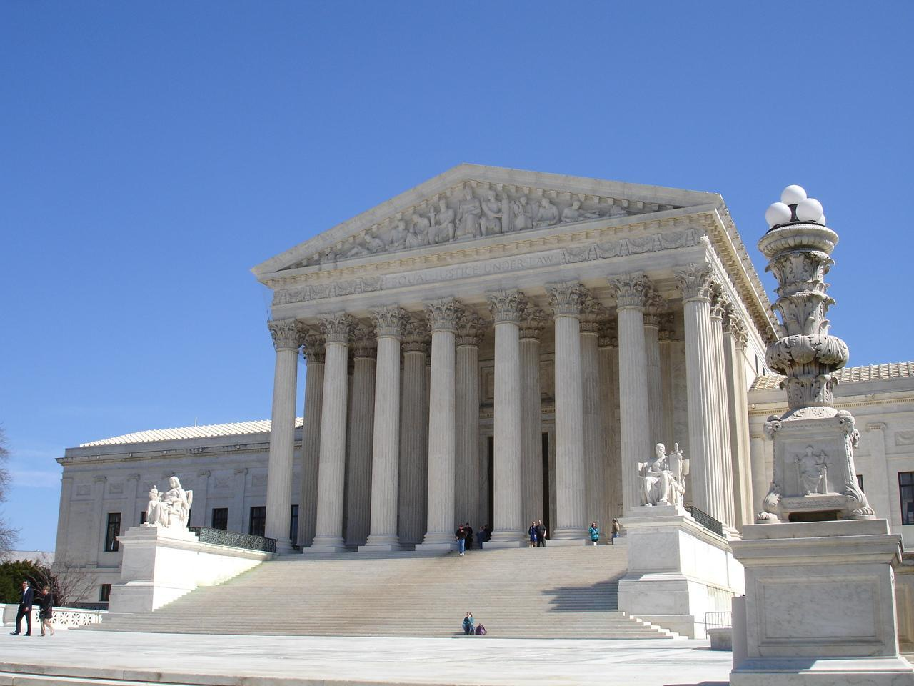 The Supreme Court, pictured here, seems reluctant to make a revolutionary decision regarding same-sex marriage.