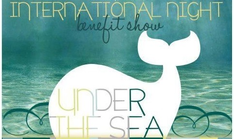 "Interact Area 12's International Night adopts an ""Under the Sea"" theme to encourage students to attend. Proceeds from ticket sales will be given to the international non-profit organization, ""Room to Read."" Photo used with permission of Nikita Bhatnagar."
