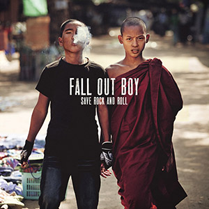 "Released on April 16, ""Save Rock and Roll"" redeems Fall Out Boy after the band's less-than-stellar 2008 album ""Folie a Deux"" by evolving their style to the new indie rock and pop scene while still keeping their punk rock roots. Source: falloutboy.com"