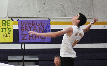 Volleyball: Matadors come back from two sets down to win on senior night