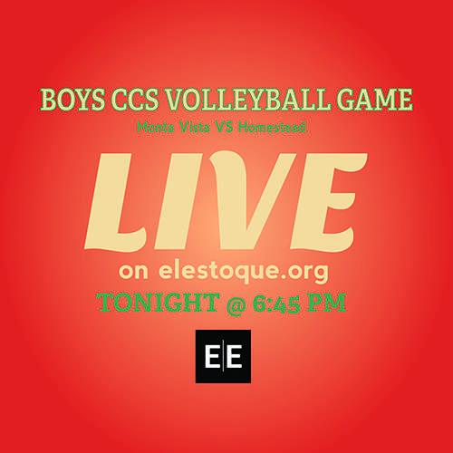 Boys Volleyball: LiveStream of CCS quarterfinals begins at 6:30